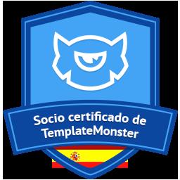 Socio Certificado de TemplateMonster