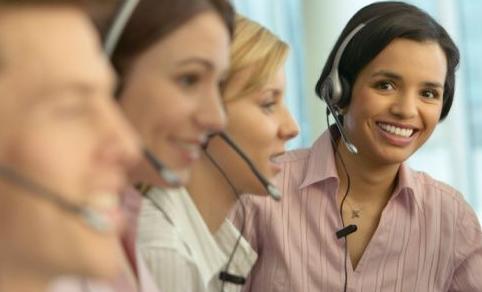 Operadoras del Call Center